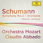 クラウディオ・アバド/シューマン:交響曲第2番、≪マンフレッド≫序曲、≪ゲノフェーファ≫序曲 【CD】