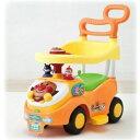 【送料無料】アンパンマン よくばりビジーカー 押し棒+ガード付き おもちゃ こども 子供 知育 勉強 0歳10ヶ月