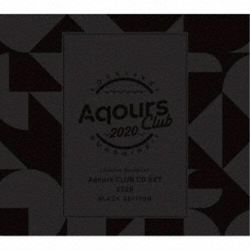 アニメソング, その他 Aqours Aqours CLUB CD SET 2020 BLACK EDITION () CDDVD