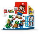 LEGO レゴ マリオ と ぼうけんのはじまり スターターセット 71360おもちゃ こども 子供 レゴ ブロック 6歳