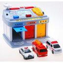 緊急車両ステーション おもちゃ こども 子供 男の子 ミニカー 車 くるま 3歳