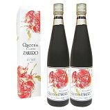 Queen'sZAKUROザクロ種子入りザクロジュース濃縮タイプクィーンズザクロ500ml2本セット