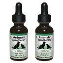 Animals' Apawthecary アニマルズアパスキャリー ペット用ハーブサプリメント ビルベリー・カレンデュラ 1オンス 29.5ml 2個セット