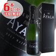 【送料無料】6本セット ブリュット マジュール[N.V]アヤラ(スパークリングワイン シャンパン)【ギフトボックス】