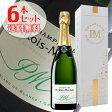 【送料無料】6本セット ブリュット ブラン ド ブラン グラン クリュ[N.V]ペルトワ モリゼ(スパークリングワイン シャンパン)