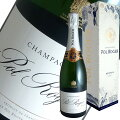 ブリュットレゼルブギフトボックス[N.V]ポルロジェ(スパークリングワインシャンパン)