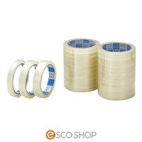 【送料無料】OPPテープ透明18mm×50m140巻[セロファンテープセロハンテープセロファン包装透明テープ]【梱包テープ/透明テープ/梱包資材/梱包材】