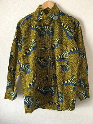 アフリカンバイラルシャツ【中古】