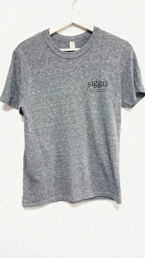 siggi'sTシャツグレーMサイズ【中古】