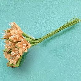 【手芸用品】【15:00迄の注文は当日発送】【デコパージュ】【造花】 紙製ミニ造花