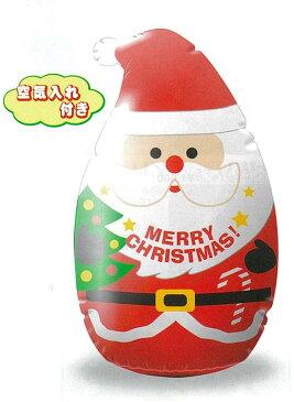 【店舗・イベント用品】【クリスマス】【エアディスプレイ】H120cmビニールディスプレイ・(M)サンタ
