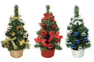 【店舗・イベント用品】【クリスマス】【ツリー・リース】20cmデコレーションツリー12個セット