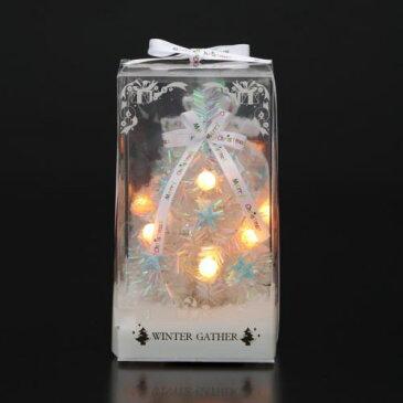 【クリスマス】LEDクリスマスキャンディツリー S 電池式 ミニツリー