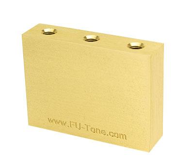 ギター用アクセサリー・パーツ, ブリッジ Floyd RoseFU-Tone Floyd Brass Sustain Big Block37mm