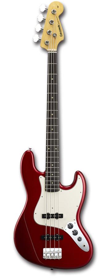 ベース, エレキベース EDWARDS E-JB-105R Candy Apple Red