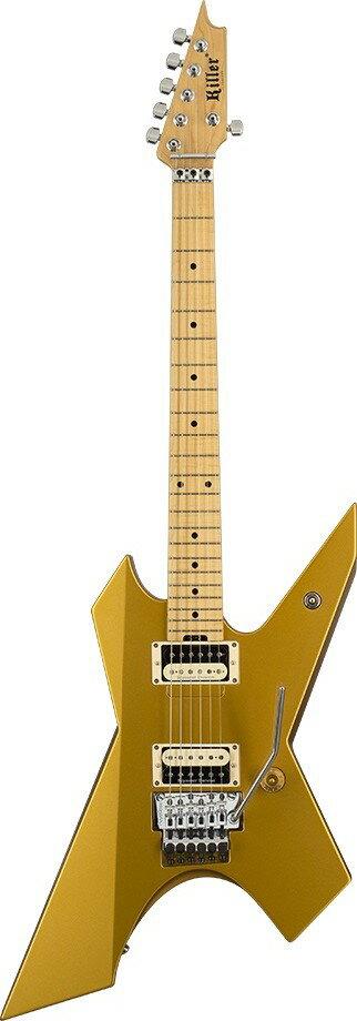 ギター, エレキギター KILLER KG-PRIME Original 2015 ver Vintage Gold