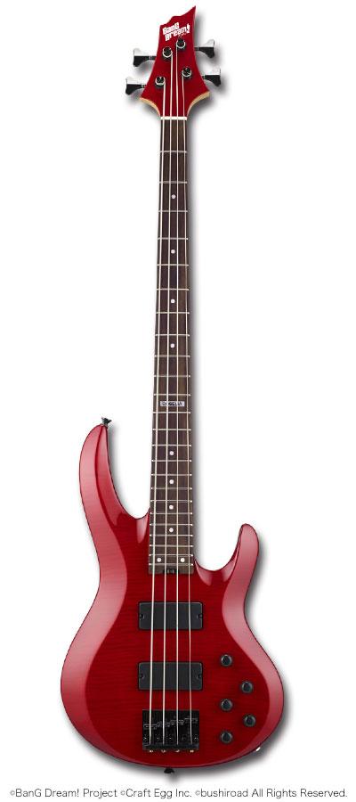 ベース, エレキベース ESPESP BanG Dream! Roselia Model BTL LISA6