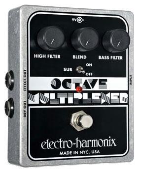 electro-harmonix Octave Multiplexer Analog Sub-Octave Generator