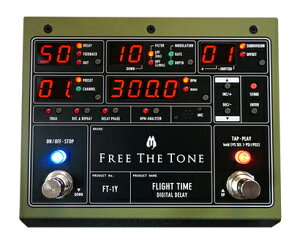 FREE THE TONE FLIGHT TIME DIGITAL DELAY [FT-1Y] ��11��������ͽ���