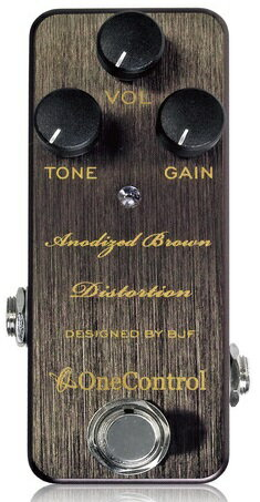 One Control / Anodized Brown Distortion