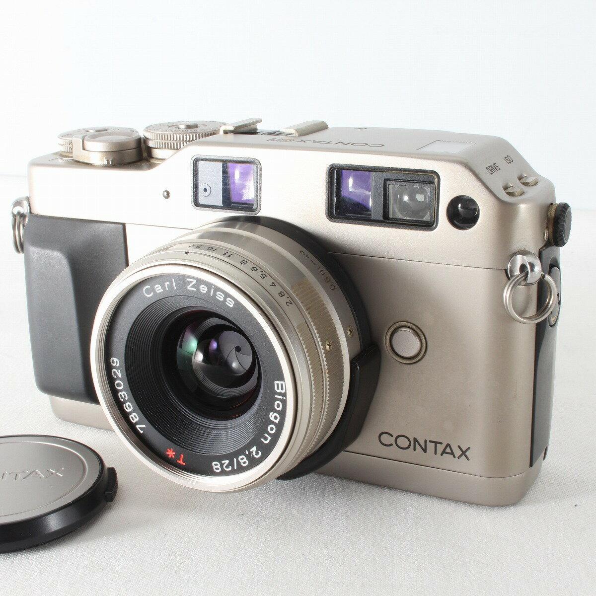 フィルムカメラ, フィルム一眼レフカメラ  CONTAX G1 ROM Biogon 28mm F2.8 T 32112