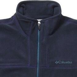 コロンビアColumbiaメンズフリースマンスフィールドフルジップトップAbyssPM1427439