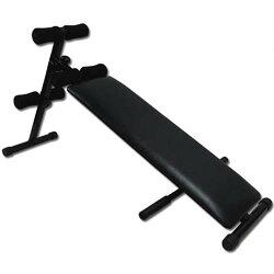 3WAYシットアップベンチ腹筋背筋腕立て用マシン