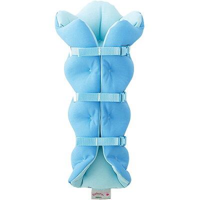 ムッシュ(MUSSHU) サクラ咲く まくら 足枕 SS90010 BL・ブルー F ふくらは…