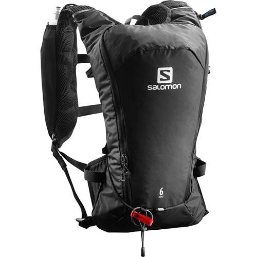 サロモン SALOMON リュック アジャイル6セット AGILE 6 SET BLACK/ブラック L40164500
