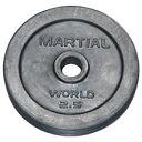 【特殊送料】マーシャルワールド MARTIAL WORLD ラバープレート穴径28mm 2.5kg RP2500