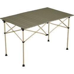 コールマンColemanキャンプ用品イージーロール2ステージテーブル/110オリーブ2000034679