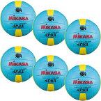 24日迄■お得なクーポン配布中■ミカサ MIKASA キッズ ドッジボール 新カラー 試合球 3号 サックス/イエロー MGJDB-L ジュニア