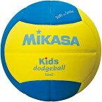 25日10:00-28日9:59迄エントリーでポイント5倍 MIKASA ミカサ ドッジボール スマイルドッジボール2号 キッズ用 SD20-YBL