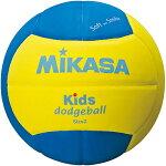 MIKASA(ミカサ)ドッジボールスマイルドッジボール2号キッズ用SD20-YBL【ドッジボール2号小学生用】