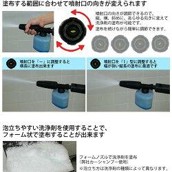 ケルヒャー(KARCHER)フォームノズル2.643-150.0【高圧洗浄機洗浄器用品洗剤用タンク】