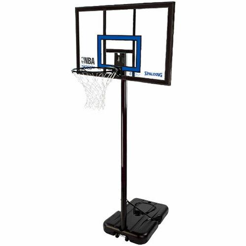 スポルディング(SPALDING) ハイライトアクリルポータブル 77455CN 【バスケットゴール 屋外用ゴール】:eSPORTS支店