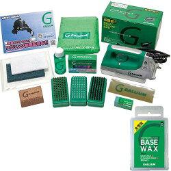 ガリウム(GALLIUM)TrialWaxingBox(トライアルワクシングボックス)JB0004+SW2132【チューンナップ用品ワックスセット】