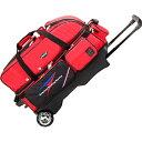 11日迄■お得なクーポン配布中■アメリカンボウリングサービス ABS カート Tバッグ 3個入れ レッド B20-2380