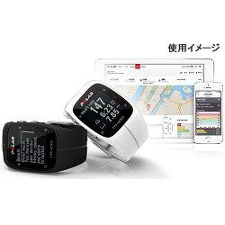 ポラール(polar)M400HRホワイト(心拍センサー付)90051346ホワイト【ランニングウォッチ腕時計心拍計活動量計国内正規品】