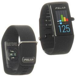 ポラール(polar)ウエアラブル活動量計リストバンドタイプA360チャコールブラックLサイズ90057535【活動量計心拍モニター腕時計Bluetooth】