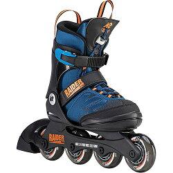 ケーツーK2ジュニアインラインスケートレイダープロRAIDERPROブルー/オレンジI190200301キッズ