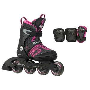 ケーツー マーレー ジュニア インライン スケート ブラック ローラースケート