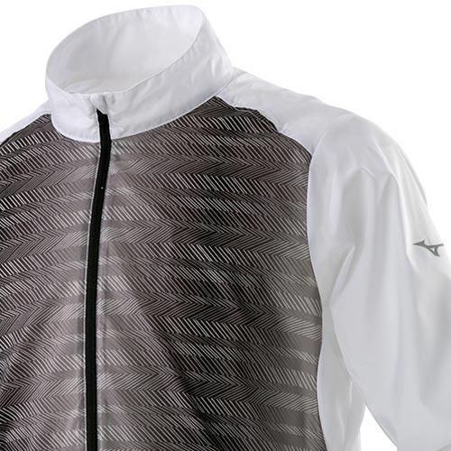 11日迄 お得なクーポン配布中 ミズノ MIZUNO メンズ ランニング ブレーカージャケット ホワイト J2ME9010 01 驚きの破格値, 新品