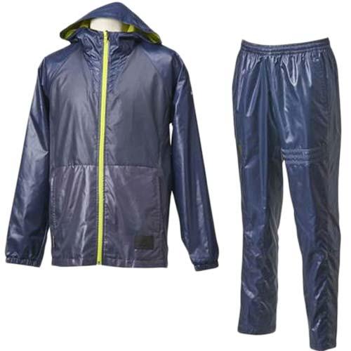 アディダス(adidas) REVO ウィンドブレーカーフードジャケット/パンツ 上下セット AH7007/AH7013 ネイビー 【野球 ウェア ブレーカー 防寒 トレーニング】