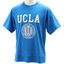 チャンピオン(Champion) UCLA ASS Tシャツ CS1602T ブルー 【在庫限定 バスケットボール カレッジ カジュアル ウェア】
