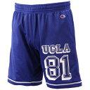 チャンピオン(Champion) UCLA CH メッシュ ショートパンツ CP160H アメリカBL 【在庫限定 バスケットボール カレッジ カジュアル ハーフパンツ】