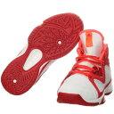 アディダス(adidas) アディゼロ adizero PG K ホワイト/シルバー/レッド GUF21 B39043 【バスケットボール シューズ NBA フットウェア】