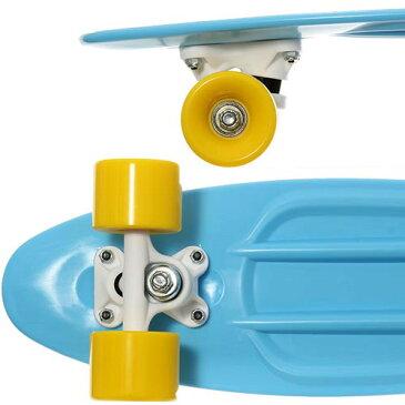 東方興産 TOHO ジュニア ミニクルーザー スケートボード コンプリート ライトブルー MPSK22 キッズ