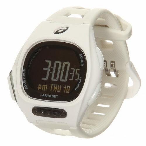 【送料無料】アシックス(asics) ランニングウォッチ AR10 ホワイト CQAR1002 【ランニング 腕時計 ラップ マラソン ジョギング】 ◆あす楽◆★送料無料★