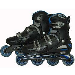 TOHO一般用ワンタッチサイズ調整式インラインスケート#9000BL【ローラースケート】【SRT】